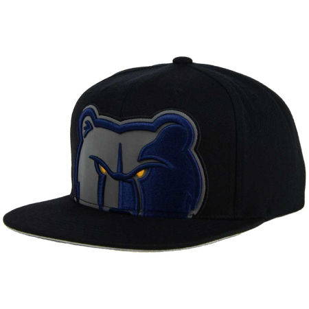 Memphis Grizzlies Mitchell & Ness XL Reflective Cropped Snapback Cap