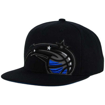 Orlando Magic Mitchell & Ness XL Reflective Cropped Snapback Cap