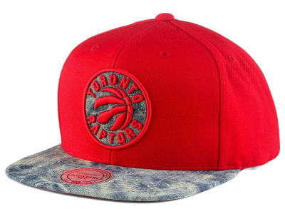 Toronto Raptors Mitchell & Ness NBA All Color Acid Wash Snapback Cap