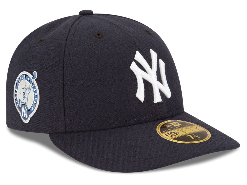 New York Yankees Derek Jeter New Era MLB Low Profile Authentic Collection Jeter  Patch 59FIFTY Cap  17d11212f974