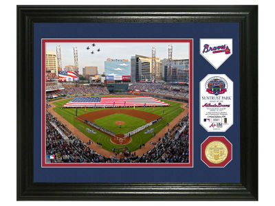 Atlanta Braves Single Coin Photo Mint - 11x14