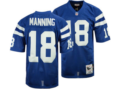 Indianapolis Colts Peyton Manning Mitchell & Ness NFL Men's Authentic Football Jersey