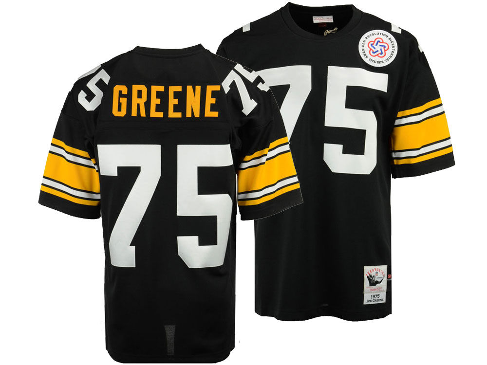 Pittsburgh Steelers Joe Greene Mitchell   Ness NFL Men s Authentic Football  Jersey  ccc74c5e7