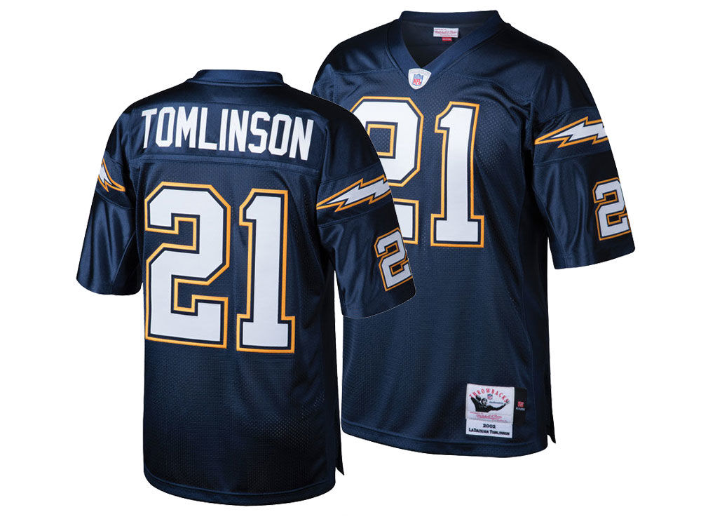 San Diego Chargers LaDainian Tomlinson Mitchell   Ness NFL Men s Authentic  Football Jersey 0546e8664