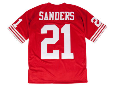 San Francisco 49ers Deion Sanders Mitchell & Ness NFL Men's Authentic Football Jersey