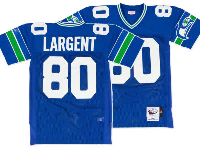 Seattle Seahawks Steve Largent Mitchell & Ness NFL Men's Authentic Football Jersey