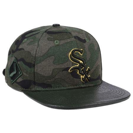 Chicago White Sox Pro Standard MLB Camo Gold Strapback Cap