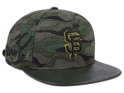 San Francisco Giants Pro Standard MLB Camo Gold Strapback Cap