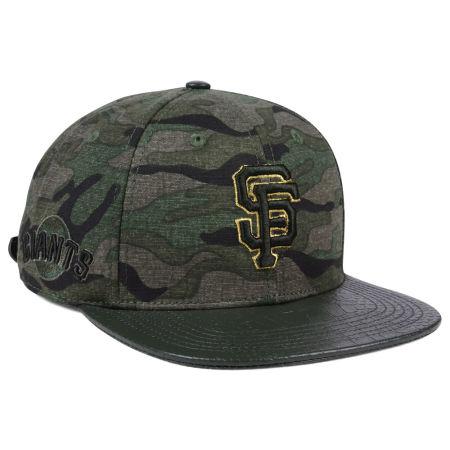 San Francisco Giants Pro Standard MLB Camo Gold Strapback Cap