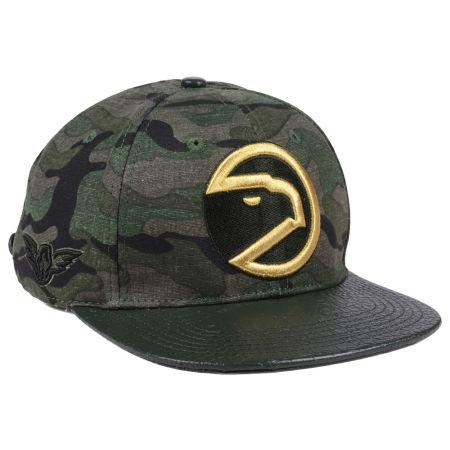Atlanta Hawks Pro Standard NBA Camo Gold Strapback Cap