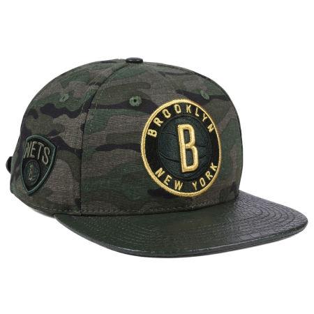 Brooklyn Nets Pro Standard NBA Camo Gold Strapback Cap