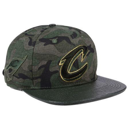 Cleveland Cavaliers Pro Standard NBA Camo Gold Strapback Cap