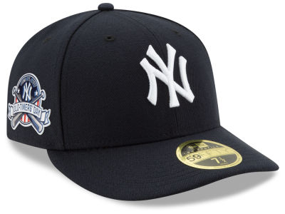 New York Yankees New Era 2017 MLB Low Profile Old Timers Day Patch 59FIFTY Cap