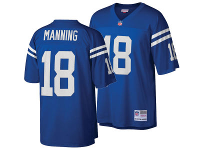 Indianapolis Colts Peyton Manning Mitchell & Ness NFL Replica Throwback Jersey