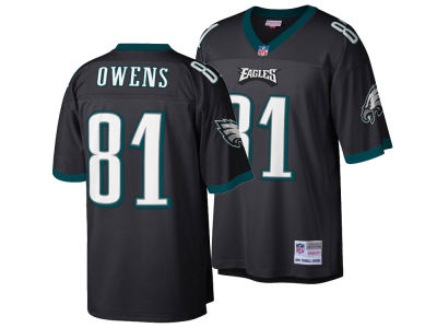 Philadelphia Eagles Terrell Owens Mitchell & Ness NFL Replica Throwback Jersey