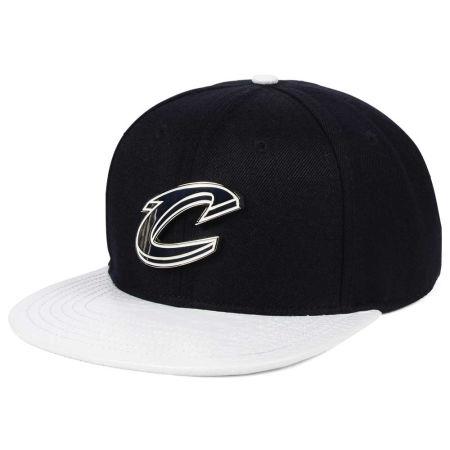 Cleveland Cavaliers Pro Standard NBA METAL Black & White Strapback Cap