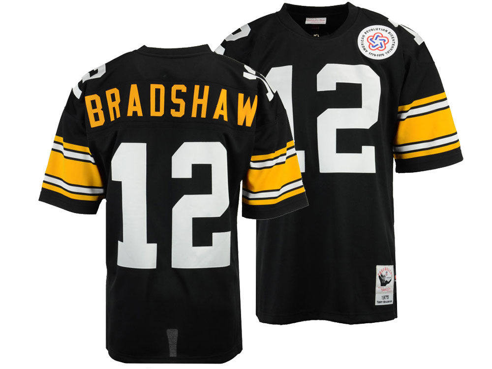eda0f2b1aee ... customized camo salute to service jersey veterans day; pittsburgh  steelers terry bradshaw mitchell ness nfl mens authentic football jersey