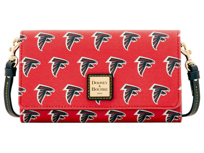 Atlanta Falcons Dooney & Bourke Daphne Crossbody Wallet