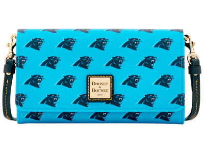 Carolina Panthers Dooney & Bourke Daphne Crossbody Wallet