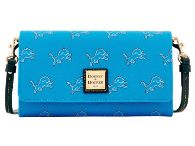Detroit Lions Dooney & Bourke Daphne Crossbody Wallet