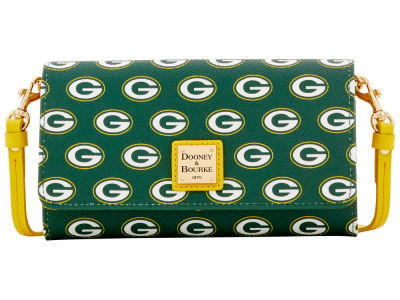 Green Bay Packers Dooney & Bourke Daphne Crossbody Wallet