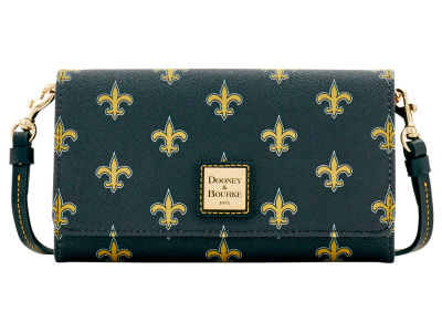 New Orleans Saints Dooney & Bourke Daphne Crossbody Wallet