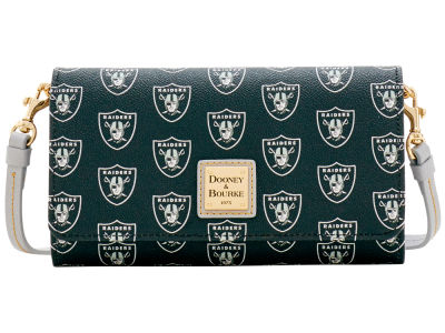 Oakland Raiders Dooney & Bourke Daphne Crossbody Wallet
