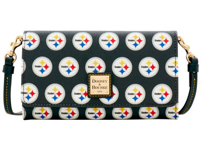 Pittsburgh Steelers Dooney & Bourke Daphne Crossbody Wallet