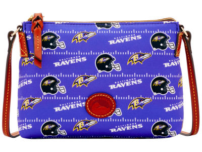 Baltimore Ravens Dooney & Bourke Nylon Crossbody Pouchette