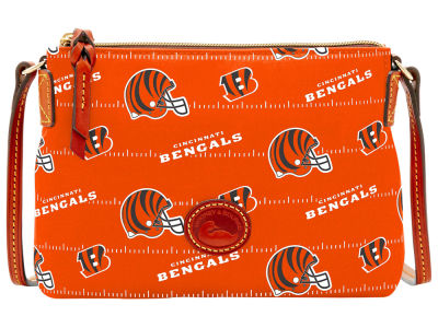 Cincinnati Bengals Dooney & Bourke Nylon Crossbody Pouchette