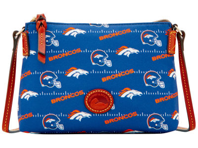 Denver Broncos Dooney & Bourke Nylon Crossbody Pouchette