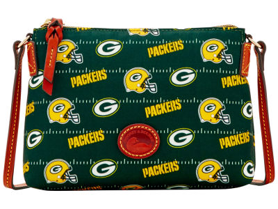 Green Bay Packers Dooney & Bourke Nylon Crossbody Pouchette