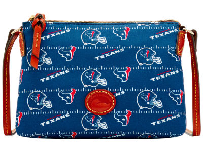 Houston Texans Dooney & Bourke Nylon Crossbody Pouchette