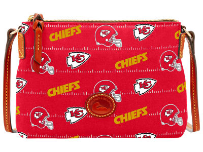 Kansas City Chiefs Dooney & Bourke Nylon Crossbody Pouchette