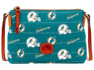 Miami Dolphins Dooney & Bourke Nylon Crossbody Pouchette