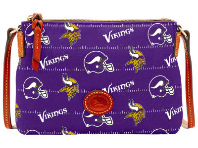 Minnesota Vikings Dooney & Bourke Nylon Crossbody Pouchette