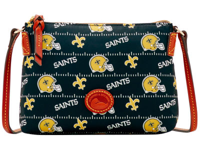 New Orleans Saints Dooney & Bourke Nylon Crossbody Pouchette