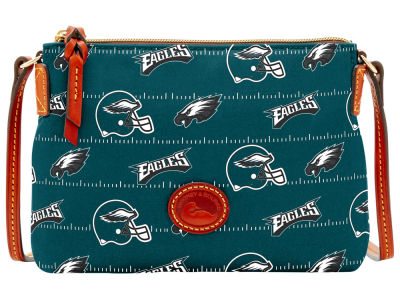 Philadelphia Eagles Dooney & Bourke Nylon Crossbody Pouchette