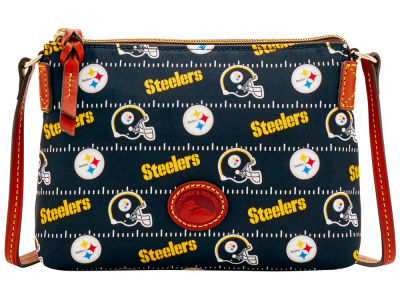 Pittsburgh Steelers Dooney & Bourke Nylon Crossbody Pouchette