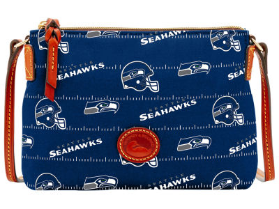 Seattle Seahawks Dooney & Bourke Nylon Crossbody Pouchette