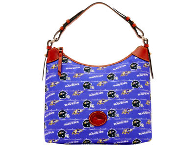 Baltimore Ravens Dooney & Bourke Nylon Hobo Bag