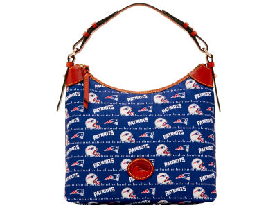 New England Patriots Dooney & Bourke Nylon Hobo Bag