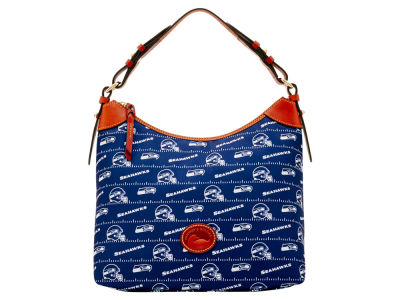 Seattle Seahawks Dooney & Bourke Nylon Hobo Bag