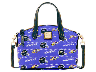 Baltimore Ravens Dooney & Bourke Nylon Ruby Mini Satchel XBody