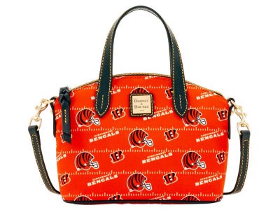 Cincinnati Bengals Dooney & Bourke Nylon Ruby Mini Satchel XBody
