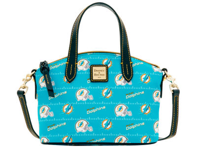 Miami Dolphins Dooney & Bourke Nylon Ruby Mini Satchel XBody