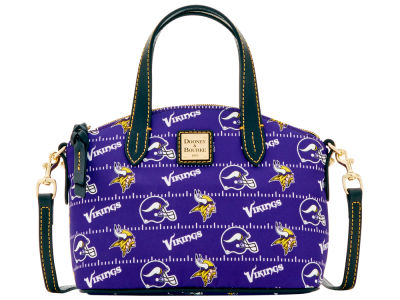 Minnesota Vikings Dooney & Bourke Nylon Ruby Mini Satchel XBody