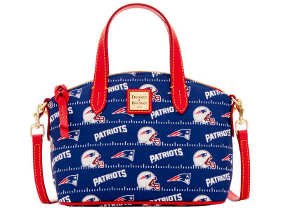 New England Patriots Dooney & Bourke Nylon Ruby Mini Satchel XBody