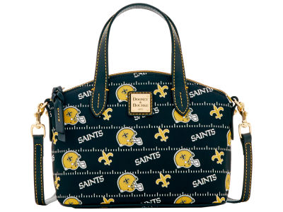 New Orleans Saints Dooney & Bourke Nylon Ruby Mini Satchel XBody