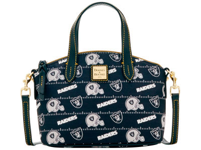 Oakland Raiders Dooney & Bourke Nylon Ruby Mini Satchel XBody